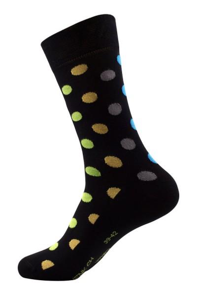 Punkte Socken Bio-Baumwolle