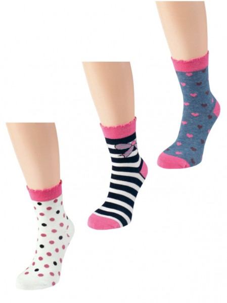Kindersocken Baumwolle Girl