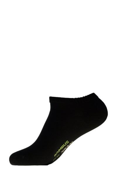 Sneakers Bambus Wenk schwarz