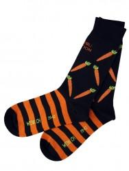 Rüebli Socken Bio-Baumwolle