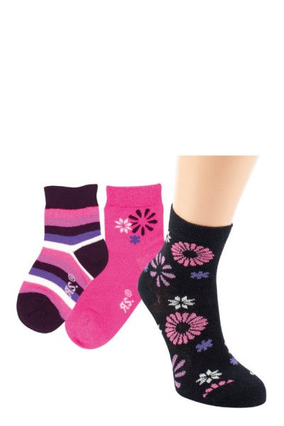 Kindersocken Flowers