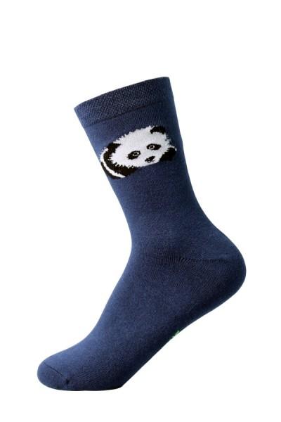 Kindersocken Bambus Panda